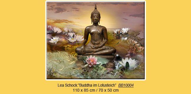 buddha lotus w