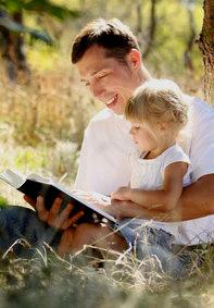 Liebevolle Väter wollen eher ihre Familien zusammenhalten.